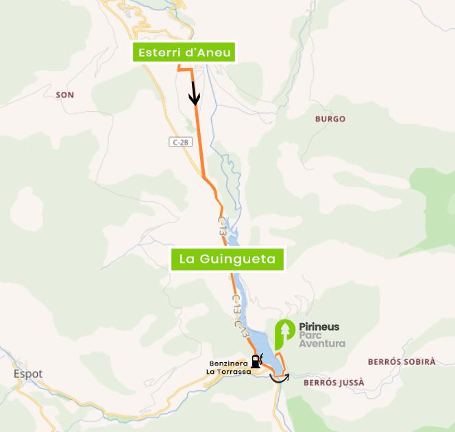How To Arrive Pirineus Parc Aventura